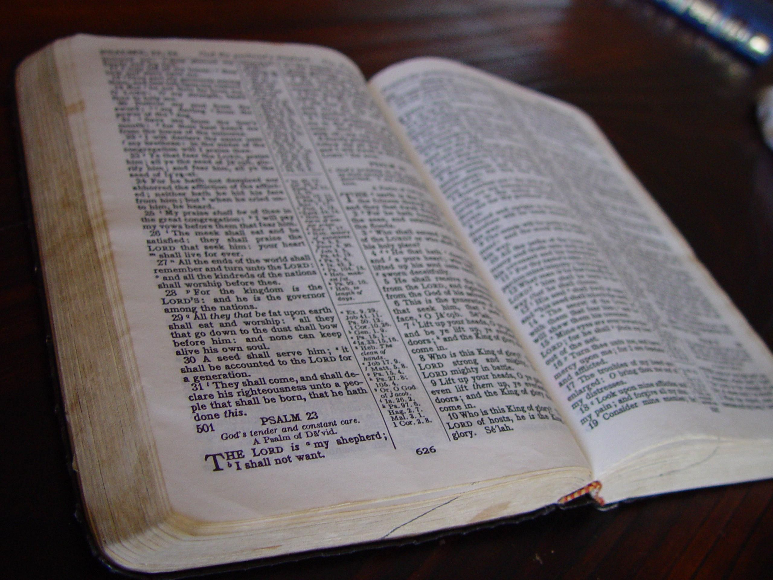 October 1 is Bring Your Bible to School Day