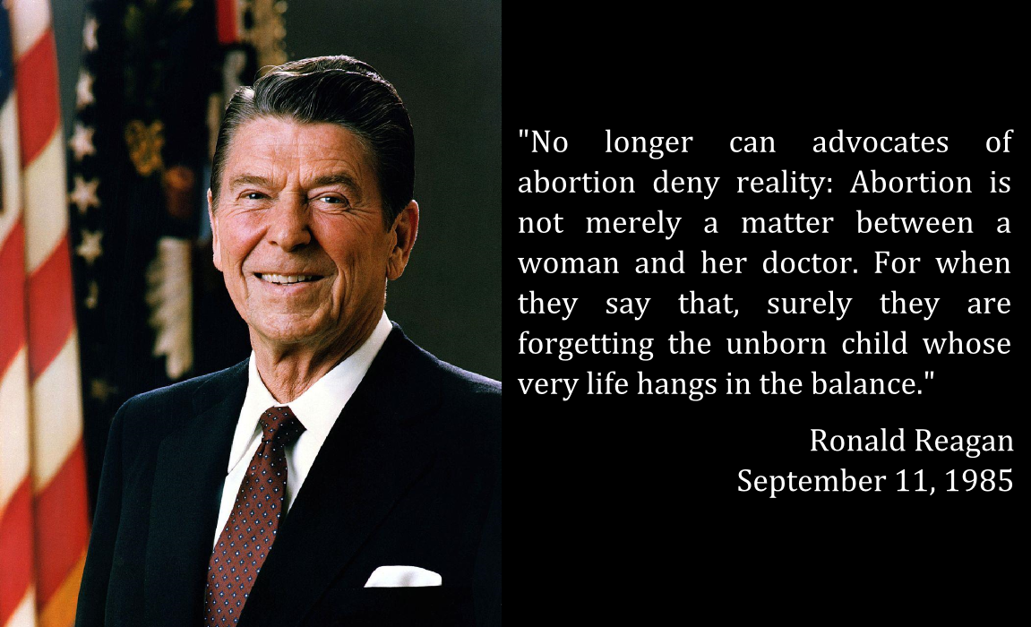 Pro Life Quotes Fascinating The Prolife Views Of Ronald Reagan  Family Council