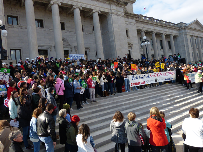 Come to the 42nd Annual Arkansas March for Life