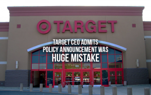 Target CEO Admits Bathroom Policy Announcement Was A Mistake - Target bathroom policy