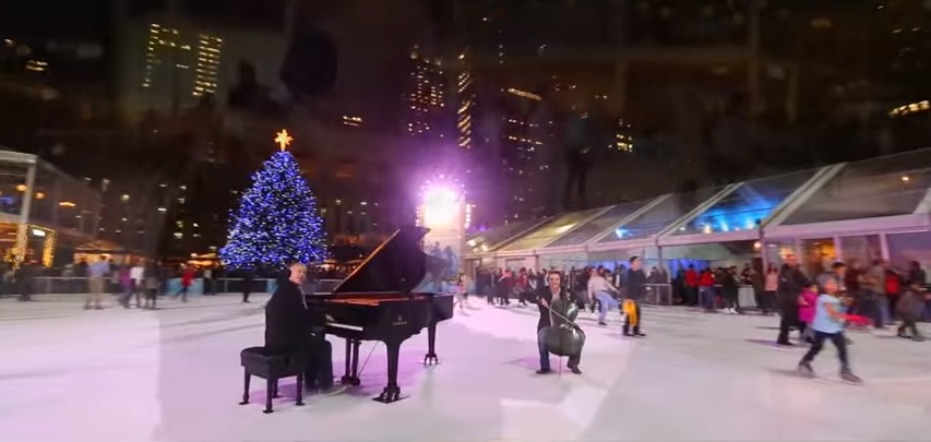"""""""We Three Kings"""" on Piano and Cello…"""