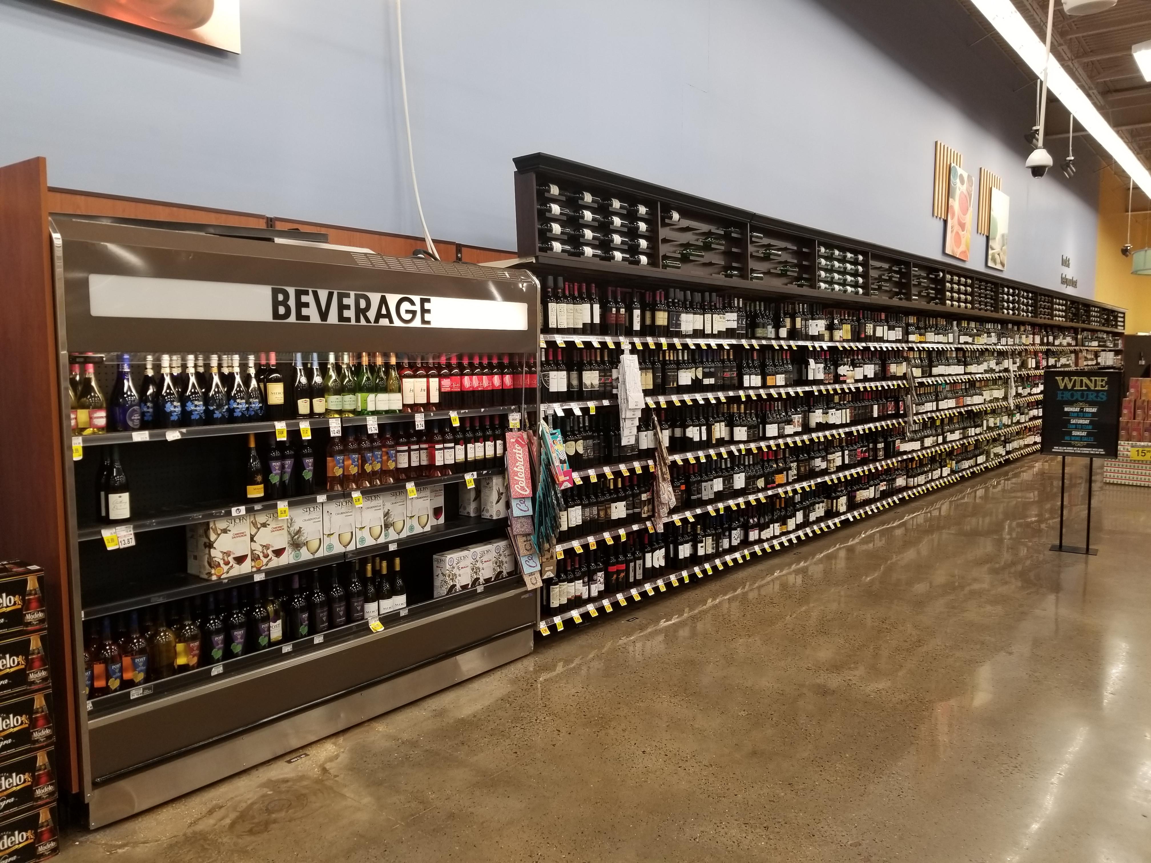 Kroger Expands Wine Sales