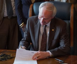 Arkansas Governor Signs Abortion Reporting Bill Into Law
