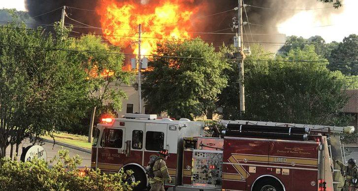 Fire Destroys Little Rock Pregnancy Resource Center