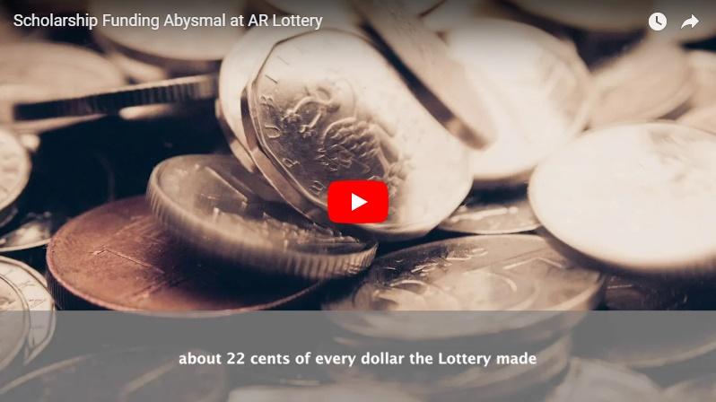 Video: Scholarship Funding Still Abysmal at AR Lottery