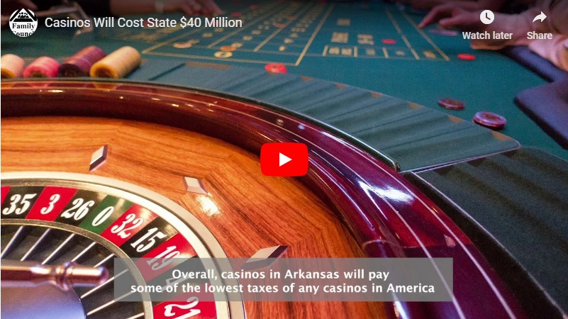 Video: Casinos Will Cost State $40 Million