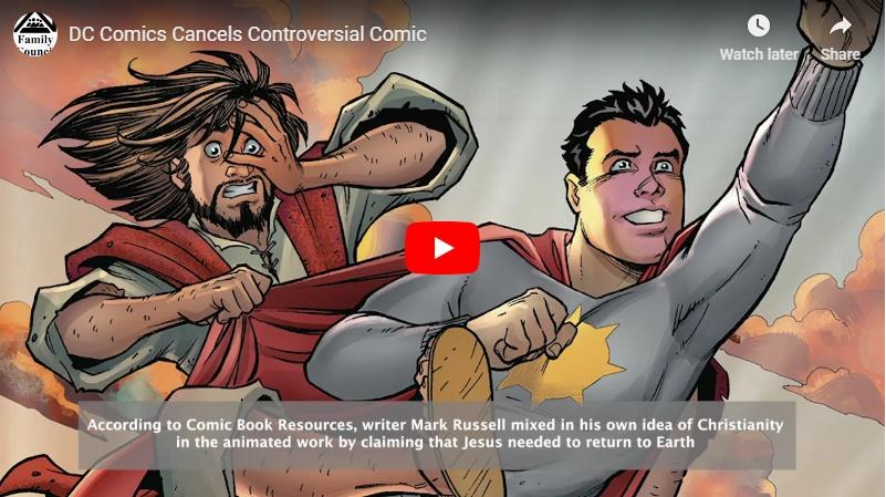 Video: DC Comics Cancels Controversial Series