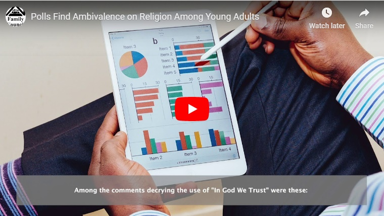 Video: Polls Find Ambivalence on Religion Among Young Adults