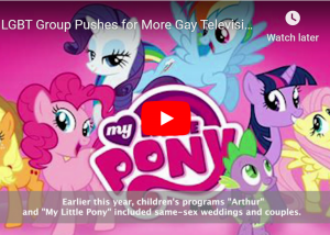 Video: LGBT Group Pushes for More Gay Television Characters