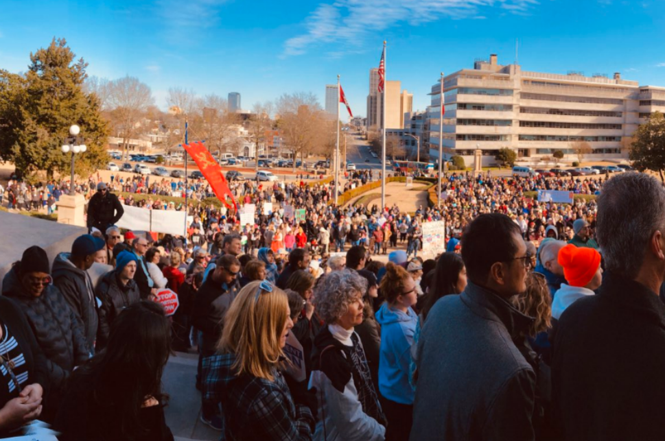 Arkansans March for Life in Little Rock: Photos