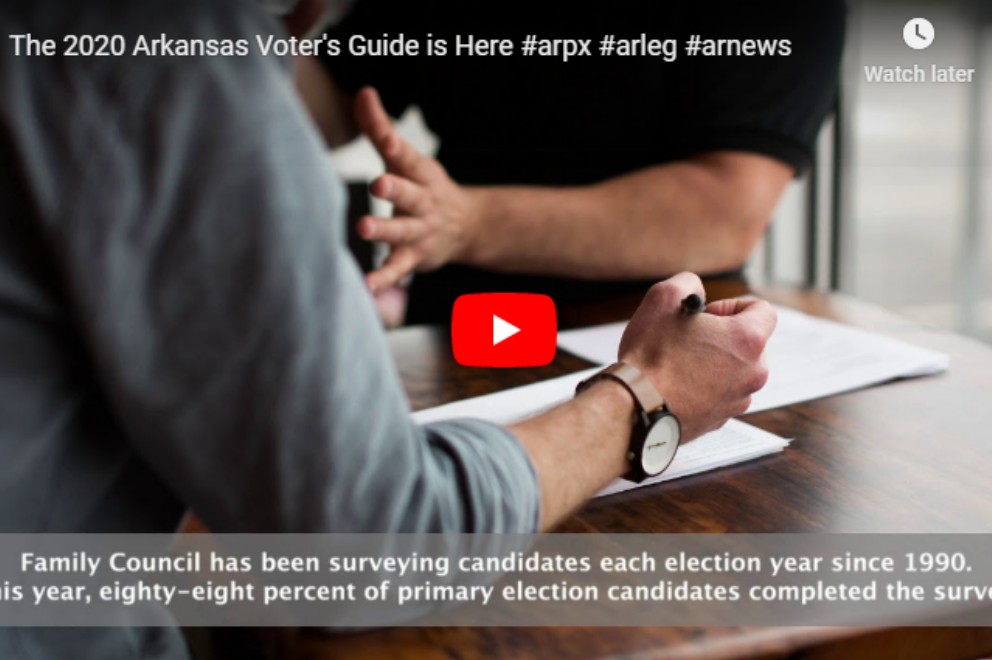 Video: The 2020 Arkansas Voter's Guide is Here