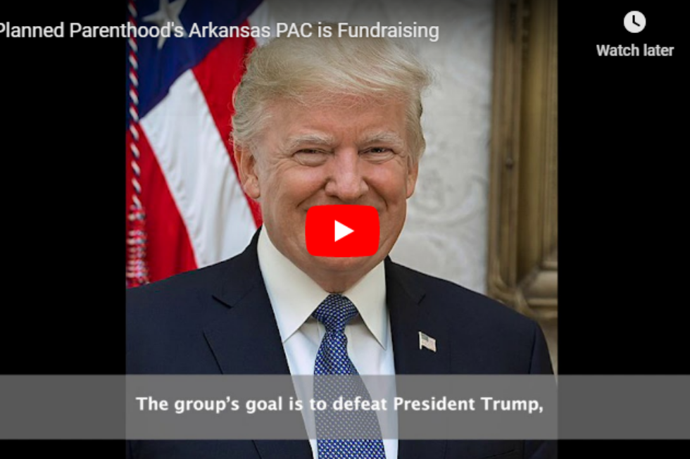 Video: Planned Parenthood Fundraising in Arkansas
