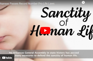 Arkansas Passes Record Number Pro-Life Laws